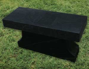 Columbarium-Bench